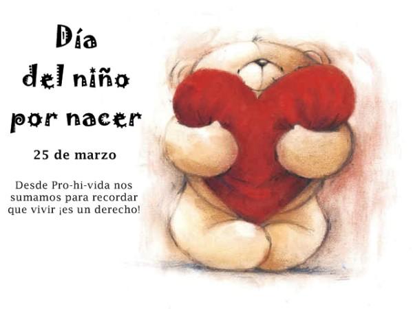 Tarjetas Del Dia Del Nino Por Nacer Con Frases Y Mensajes Para