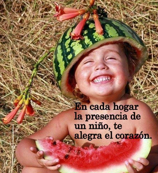 Niños felices con frases   (3)