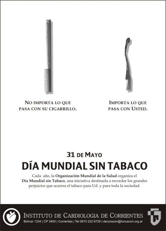día sin Tabaco carteles (7)