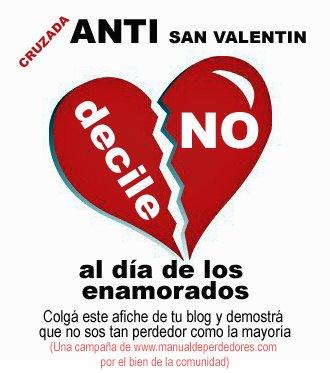 Imágenes Y Frases Graciosas Del Día Anti San Valentín
