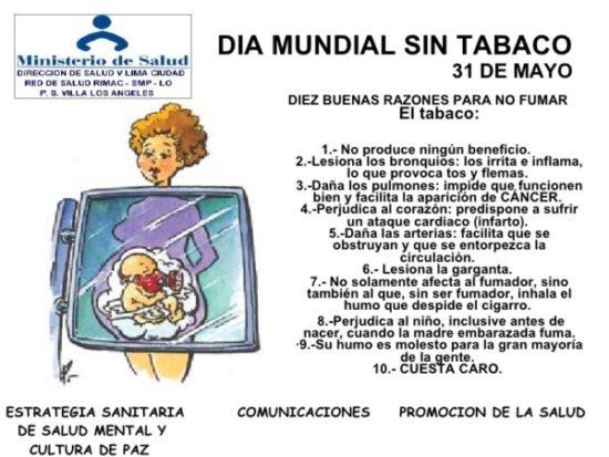 Día Mundial sin Tabaco información (8)