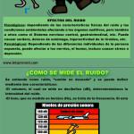 Información e imágenes del Día contra el Ruido 24 de Abril