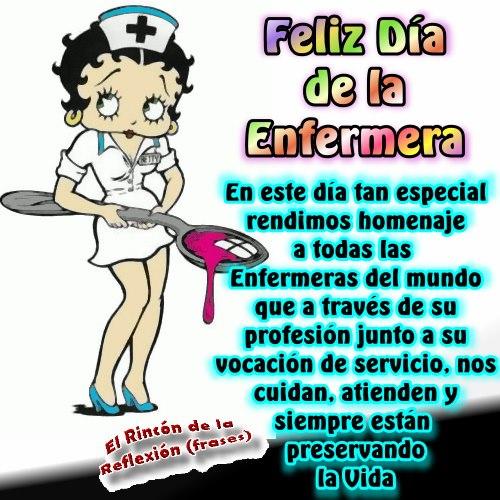 Imágenes de Felíz Día de la Enfermera con frases y