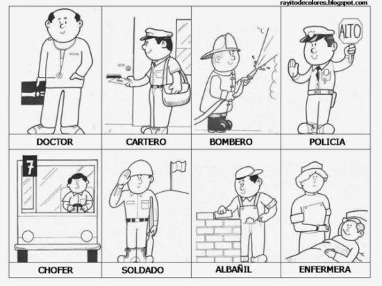 Dibujos de Oficios de Trabajo (3)