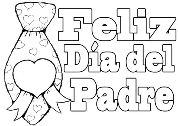 Carteles Y Diplomas Del Día Del Padre Para Colorear Y