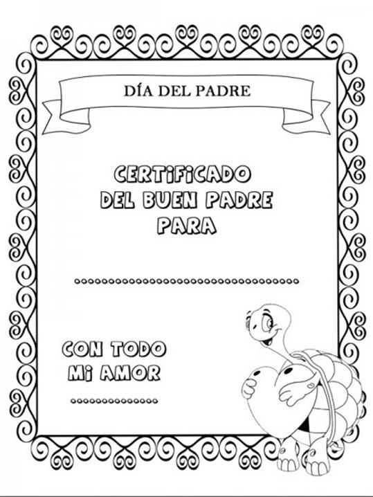 Dibujos dia del Padre para Colorear (6)