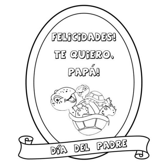 Dibujos dia del Padre para Colorear (7)