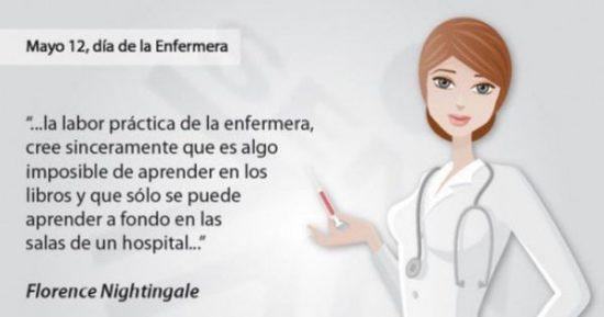 Felíz Día de la Enfermera - frase  (11)