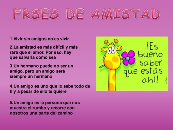 Mensajes De Amistad Imagenes Con Frases Para El Dia Del Amigo
