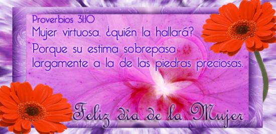 Feliz Día Mujer Virtuosa (2)