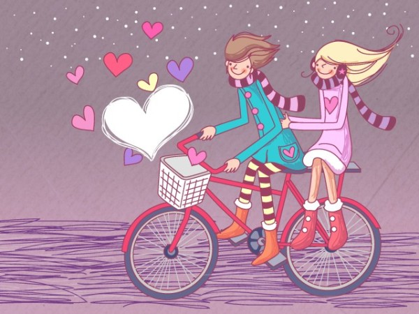 Image result for feliz en bicicleta
