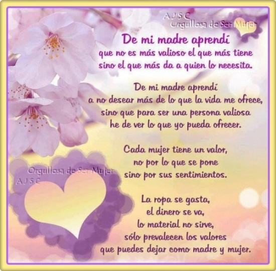 Feliz dia de la Madre Frases  (2)