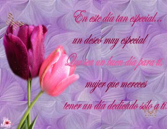 Feliz dia de la mujer - 8 de marzo (1)
