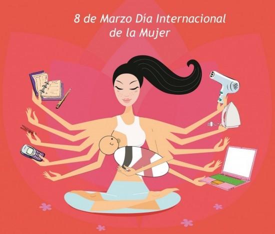 Feliz dia de la mujer - 8 de marzo (2)
