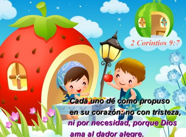 Imágenes con Frases Cristianas cortas para niños y jóvenes