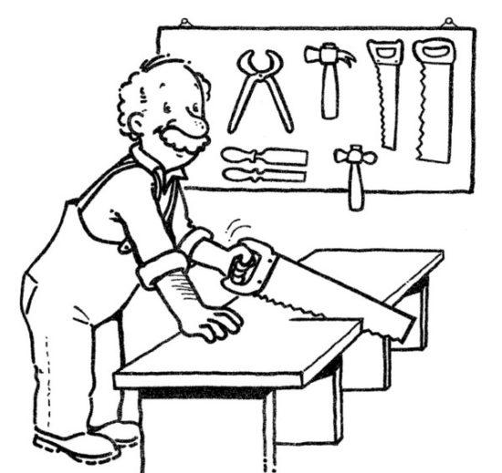 Oficios de Trabajo para Colorear (16)