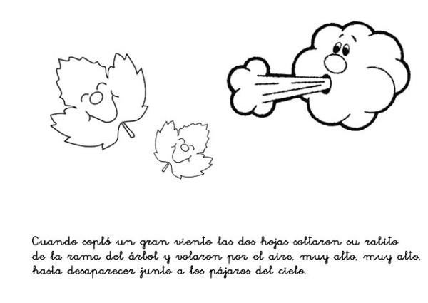 Dibujos Colorear Otono Infantil: Poemas Infantiles De Otoño Y Verano Para Niños En Imágenes