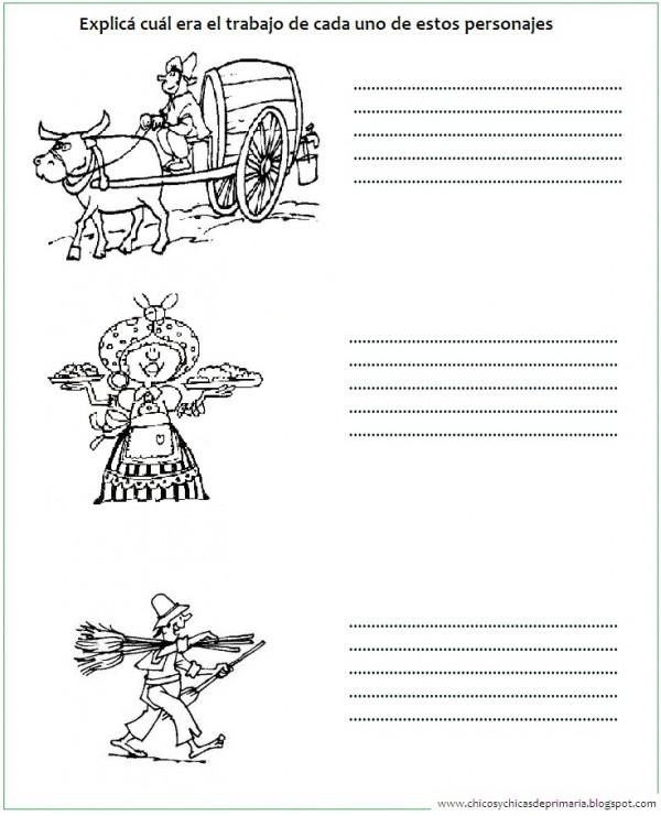 Imágenes del Día de la Escarapela con dibujos para descargar y ...