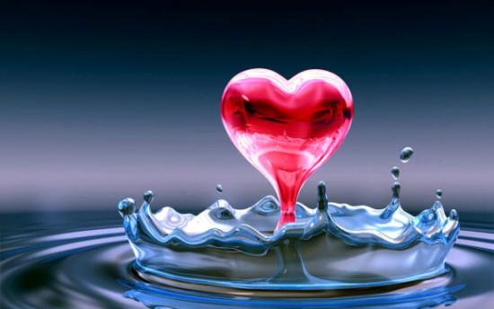 Wallpaper 3D de corazones  (10)
