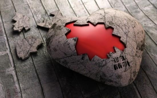 Wallpaper 3D de corazones  (3)