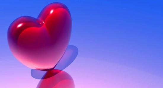 Wallpaper 3D de corazones  (6)