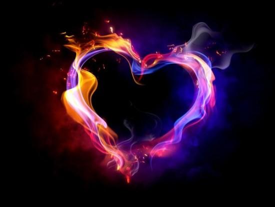 Wallpaper 3D de corazones  (8)
