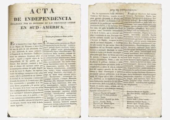 acta declaracion de la independencia 1816 (1)