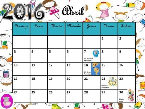 calendario abril 2016 para imprimir  (5)