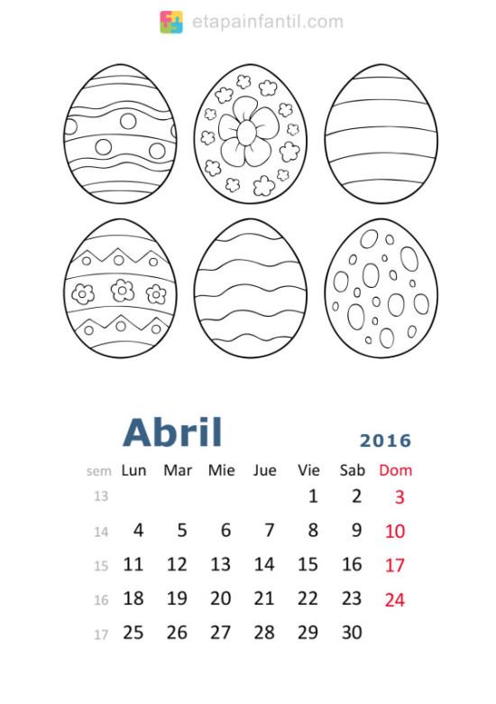 calendario abril 2016 para imprimir  (6)