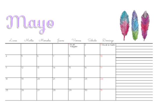 calendario infantil mayo 2016  (1)