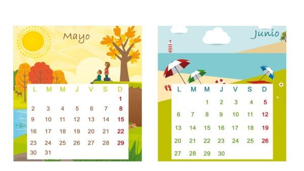 im u00e1genes de calendarios infantiles de mayo 2016 para