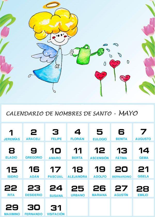 Im genes de calendarios infantiles de mayo 2016 para for Almanaque bristol 2016