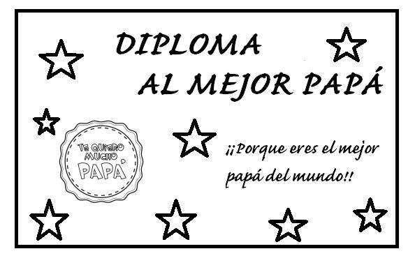 Dibujos De Corbatas Para Imprimir Y Colorear: Carteles Y Diplomas Del Día Del Padre Para Colorear Y