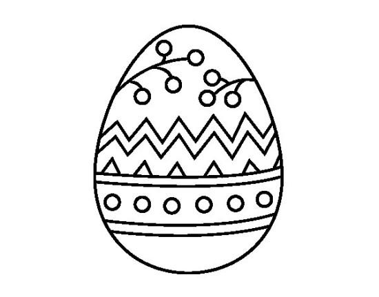 conejos y huevos para colorear Pascuas (1)