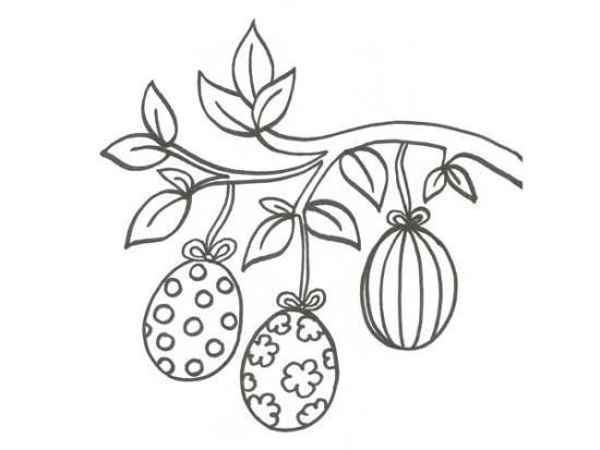 conejos y huevos para colorear Pascuas (3)