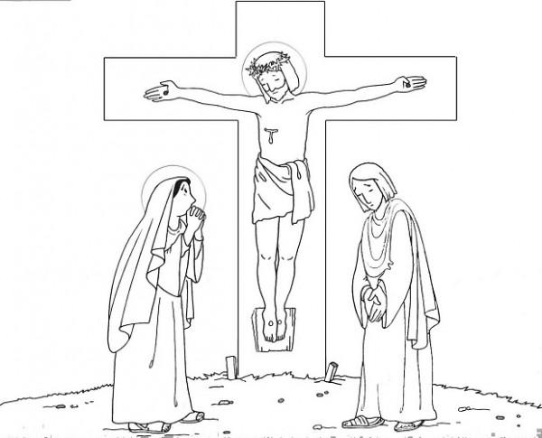 Imágenes de Jesus en la cruz y Dibujos de Cristo