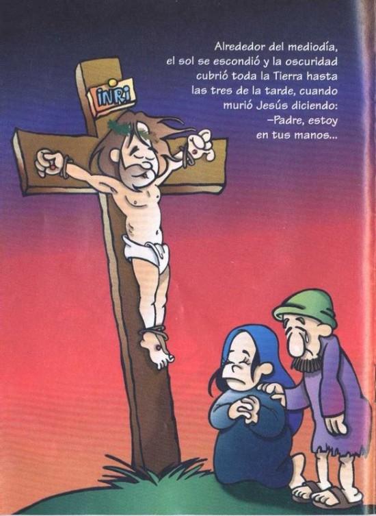 dibujos de jesus en la cruz (4)