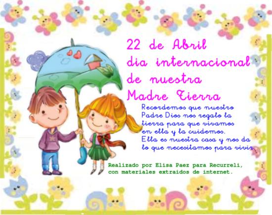 feliz dia de la Tierra  (2)