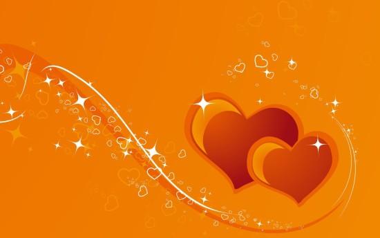fondos-de-pantalla-corazones-naranja