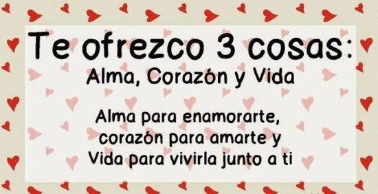 Tarjetas De Amor Con Frases Para El Dia De Los Enamorados Dia Del