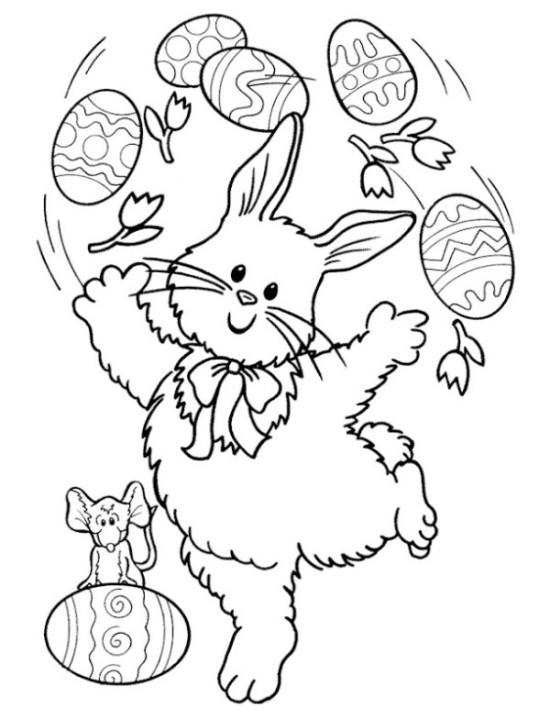 huevos y conejos de pascua  (3)