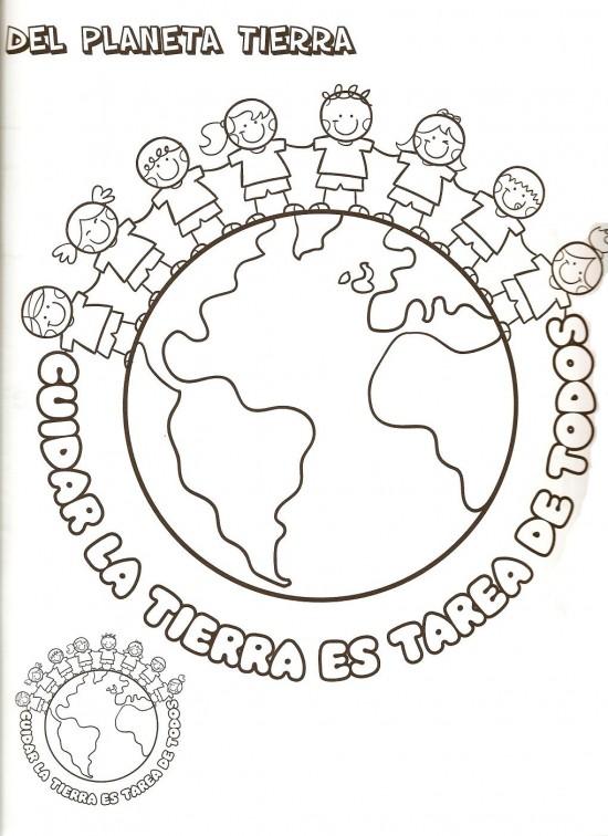 Imágenes del Día de la Tierra para pintar y colorear e imprimir el ...