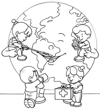 imagenes para pintar dia mundial de la tierra (6)