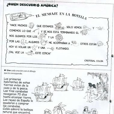 Imágenes Infantiles Del Descubrimiento De América Para