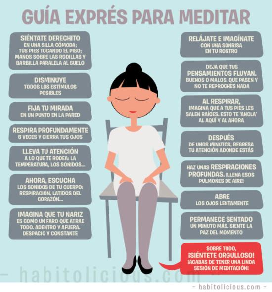 guia expres para meditar