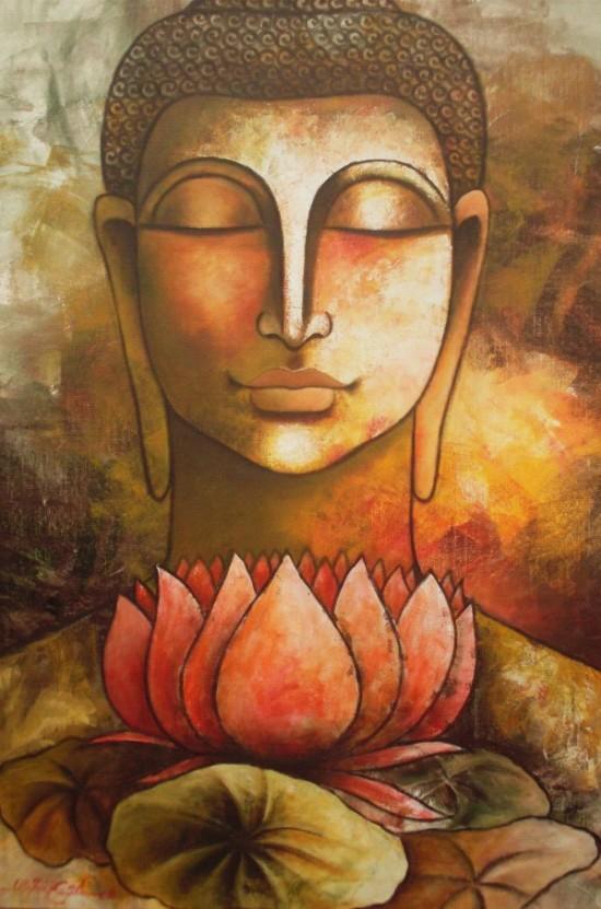 buddha dibujo para meditar