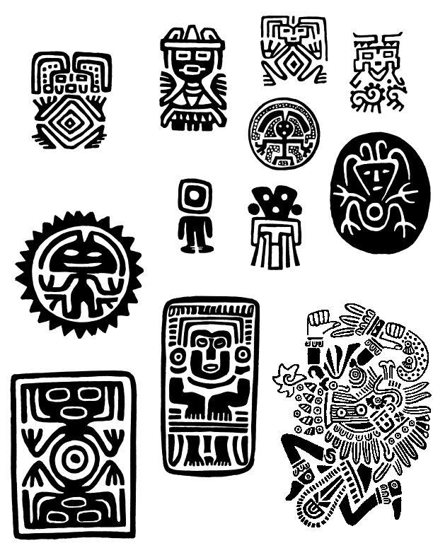 Informacion Con Imagenes Sobre La Simbologia Maya Familia Amor