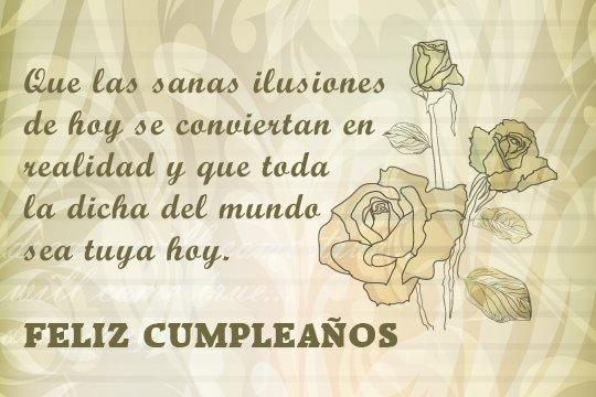 Adorno floral para desear Feliz cumpleaños (10)