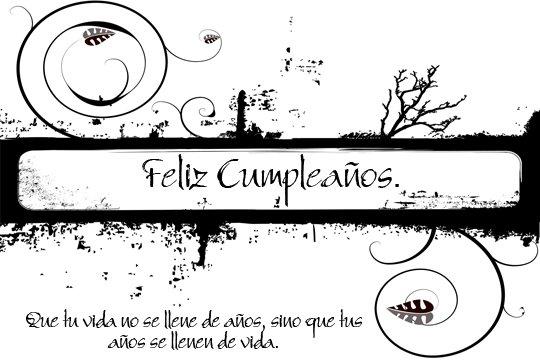 Adorno floral para desear Feliz cumpleaños (2)
