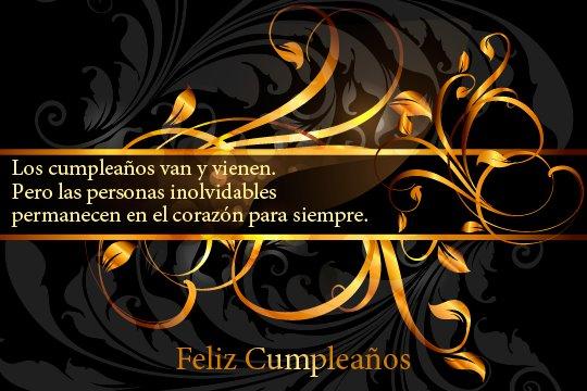 Adorno floral para desear Feliz cumpleaños (8)